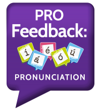Pro feedback medical spanish pronunciation